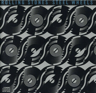 The Rolling Stones - Steel Wheels (Cd 1989 Usa Rolling Stones Records)