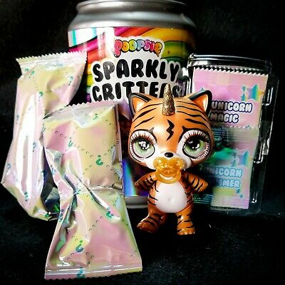 POOPSIE Sparkly Critters Drop 1 •SUGAR• The Bear Mostly Sealed