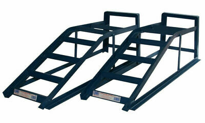 2.5 Tonne Standard Pair of Blue Ramps with 2500kg Pair Capacity Service Tools