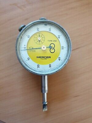 Mercer 0.01mm Dial Test Indicator Dti Plunger
