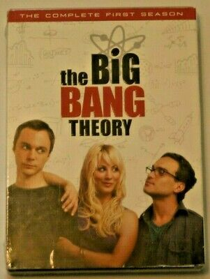 The Big Bang Theory: The Complete First Season DVD.  BRAND NEW & SEALED!!