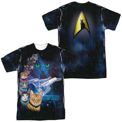"""The Search For Spock /""""Movie Poster /"""" Dye Sublimation T-Shirt Star Trek III"""