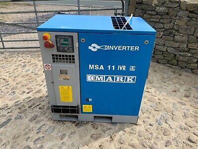Mark Screw Compressor 11Kw Variable Speed - Inverter Energy Saving 60Cfm