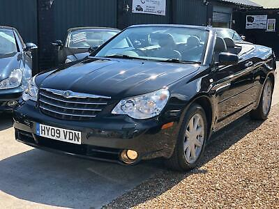 2009 Chrysler Sebring 2.7 V6 Auto Limited Convertible Petrol Automatic