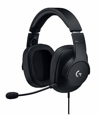 Logitech G Pro Gaming Headset with Pro Grade Mic Noise Isolation Noir DF