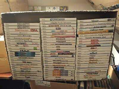 Wii Games * Most with Manuals/Some Not *