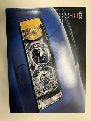 2003 Audi A4 Deluxe 42-page Sales Catalog