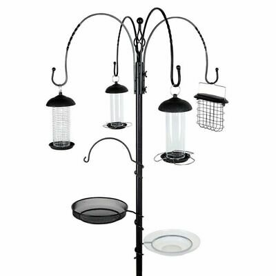 Gardman Complete Wild Bird Feeding Station Kit 4 Feeders FREE NEXT DAY DELIVERY