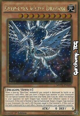 Yu Gi Oh Drago Bianco Occhi Profondi Deep-Eyes White Dragon MVP1-IT005