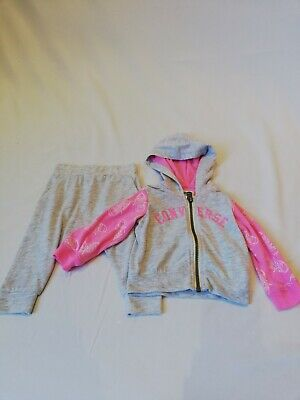 Exc Converse All Star Newborn Baby Girls Full Tracksuit Tops Bottoms 3-6M