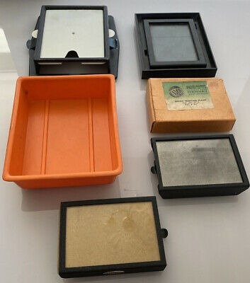 4 x Vintage Photography Darkroom Developing Envoy Johnson Print Printing Frames