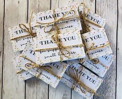 Thank You For Supporting My Small Business Note Cards 25 Pack