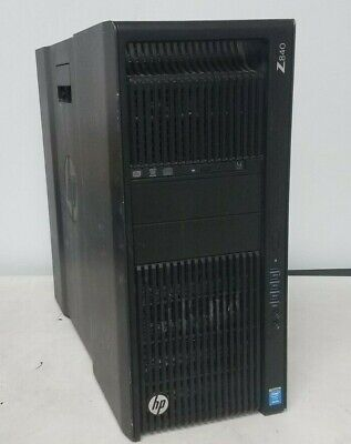 HP Z840 Workstation Xeon E5-2630 v3, 64GB RAM, 480GB SSD + 2x 2TB HDD WiFi Win10