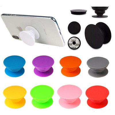 Pop Out Socket Holder Selfie Finger Grip Stand For Mobile Phone iPhone Samsung