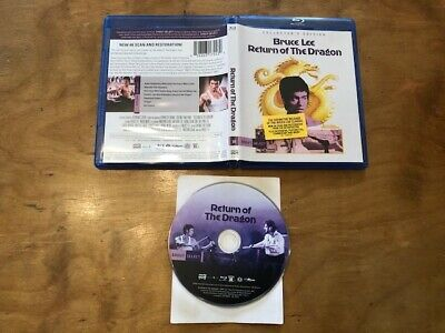 Return Of the Dragon Blu ray*Shout Factory*Collector's Edition*Bruce Lee*