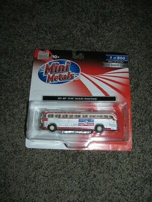 Classic Metal Works #32315 GMC PD-4103 Kennedy Campaign Intercity Bus HO