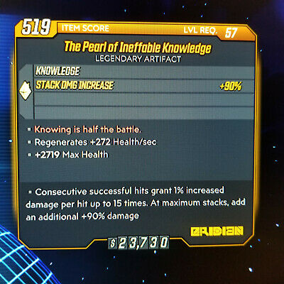 (Xbox One) Borderlands 3 [LVL 57] The Pearl of Ineffable Knowledge (Health)