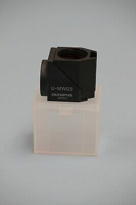 Olympus Microscope Narrow Fluorescence Filter Cube U-MNG2