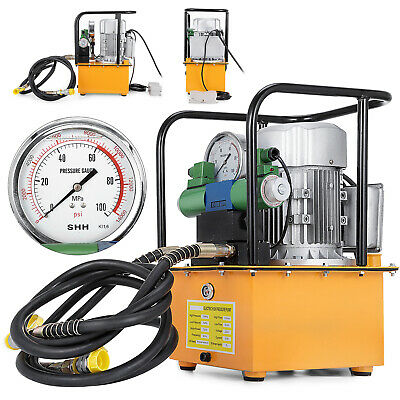 BVA Hydraulics PA1500A Treadle Pump 90 CID 10000 PSI Air Actuated Hydraulic with Pressure Adjustment