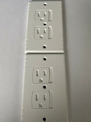 4 Self Closing baby safety outlet covers