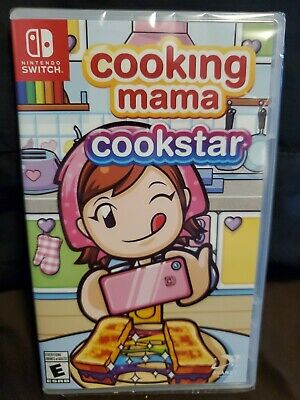 Cooking Mama Cookstar Nintendo Switch BRAND NEW Sealed FREE SHIPPING