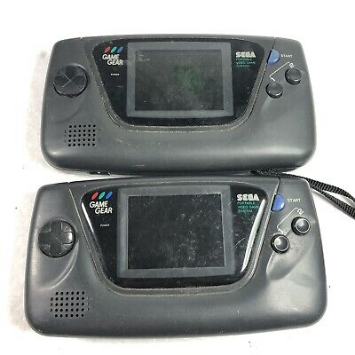 Lot of 2 Sega Game Gear handheld Consoles / Systems - As-Is for Parts / Repair
