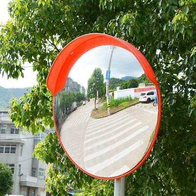 45cm Security Mirror convex Traffic Road Safety Driveway Wide Angle View Outdoor