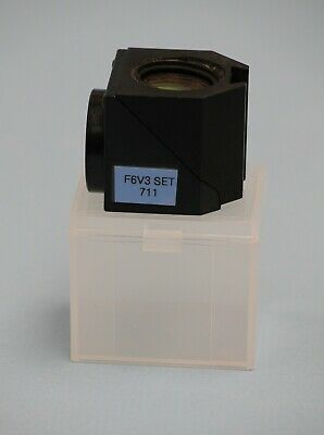 Olympus Microscope Fluorescence Filter Cube F6V3 Set