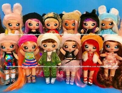 Na Na Na Surprise Serie 1 & 2 Bambola Omg Candylicious Hairvibes Queen Bee 5G