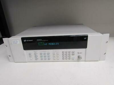 Keysight 34980A Multifunction Switch/Measure Unit w/ DMM