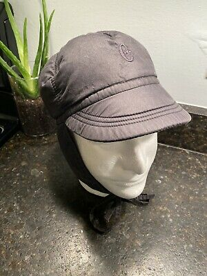 Vintage Conte Of Florence Navy Ski Hat Insulated Sz 58