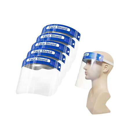 Full Face Covering Anti-Fog Shield Clear Glasses Face Protection Kitchen Tooling