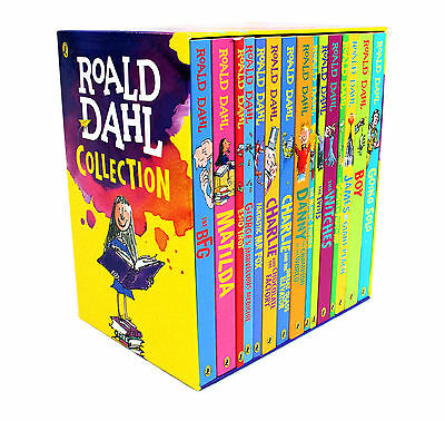 Roald Dahl 15 Books Children Collection Paperback Gift Pack Box Set