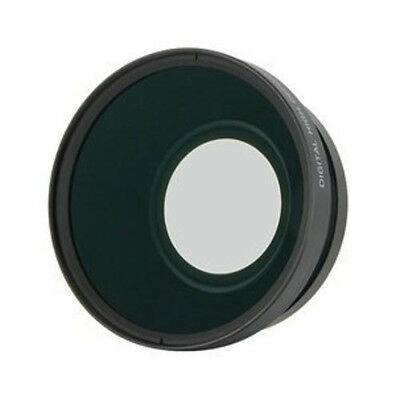 PRO Wide Angle HD 62mm Lens / MACRO 0.43x Converter For Camera camcorder fisheye