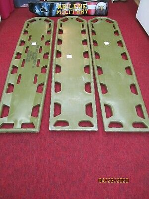 North American Rescue Spine Board Backboard Stretcher Litter Military Issue OD