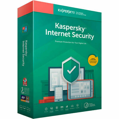 Kaspersky Internet Security 2020 1PC 1 Year Multi-device License Antivirus