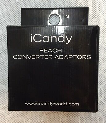 iCandy Peach 2,3,4 Blossom/Twin/Double Converter Adaptors Adapters