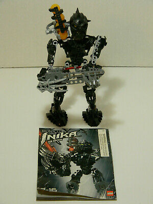 with Light-Up Weapons /& Zamor Spheres 8727-8732 All 6 Lego Bionicle INIKA