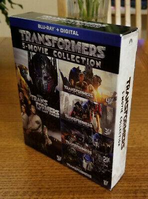 Transformers 5 Movie Collection - BluRay - Like New