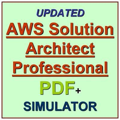 Amazon AWS Certified Solutions Architect Professional Exam SAP-C01 QA PDF+SIM
