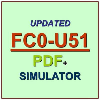 CompTIA IT Fundamentals Test  FC0-U51 Exam QA PDF+Simulator