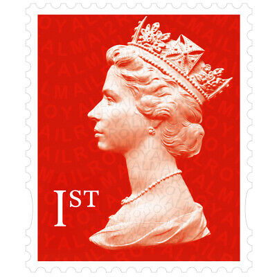 30x BRAND NEW Genuine 1st Class Royal Mail Postage Stamps - Small - Royal Mail