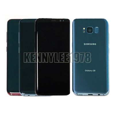 Samsung Galaxy S8 G950 64GB Factory Unlocked 4G Android Smartphone SIM Free