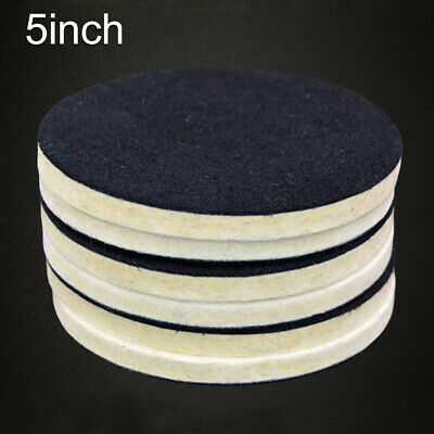5inch Buffing Wheel Soft Wear Resistance Auto Polishing Pad Car Artificial Wool