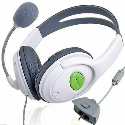 Deluxe Headset Headphone with Mic Microphone for Xbox 360 Live NEW UK