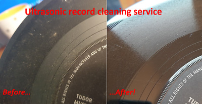 ULTRASONIC Record Cleaning (only for records purchased from Pick N Mix Records!)