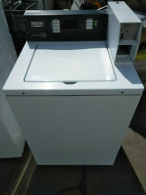Used Commercial Maytag 14lb Top Load Coin Drop Washer