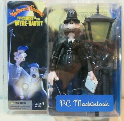 Wallace and Gromit, The Curse of the Were-Rabbit, PC Mackintosh Figure