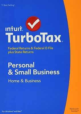TurboTax 2014 Home and Business Federal + State + Federal  brand new sealed 4936