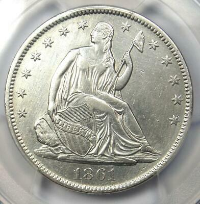 1861-O CSA Obverse Seated Liberty Half Dollar 50C FS-401 WB-102 - PCGS XF Detail